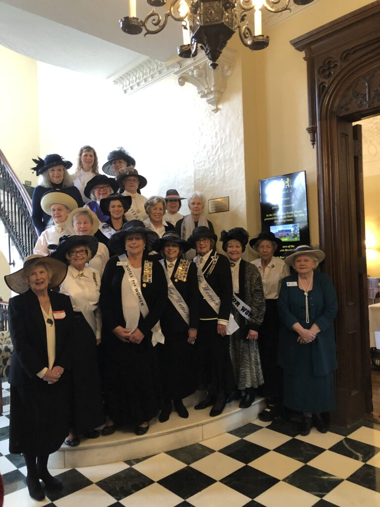 2020 Suffragist Commemoration at the Annual Birthday Luncheon in February