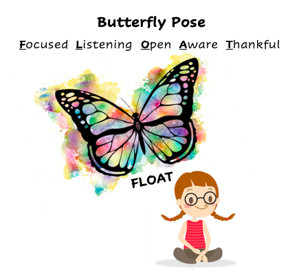 WTN Yoga for Youth: Butterfly Pose
