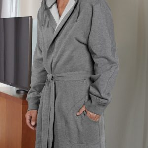 hooded SWEATSHIRT ROBE