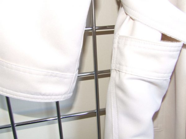 Robe Cuff and Pocket detail