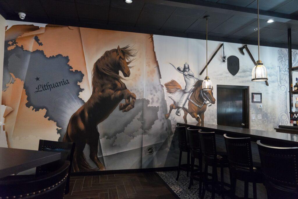 Grand Dukes restaurant - spraypaint - Yolocone - 03