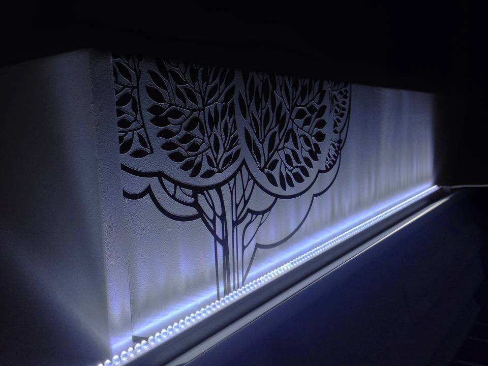 Custom Piano - Acrylics - Yolocone