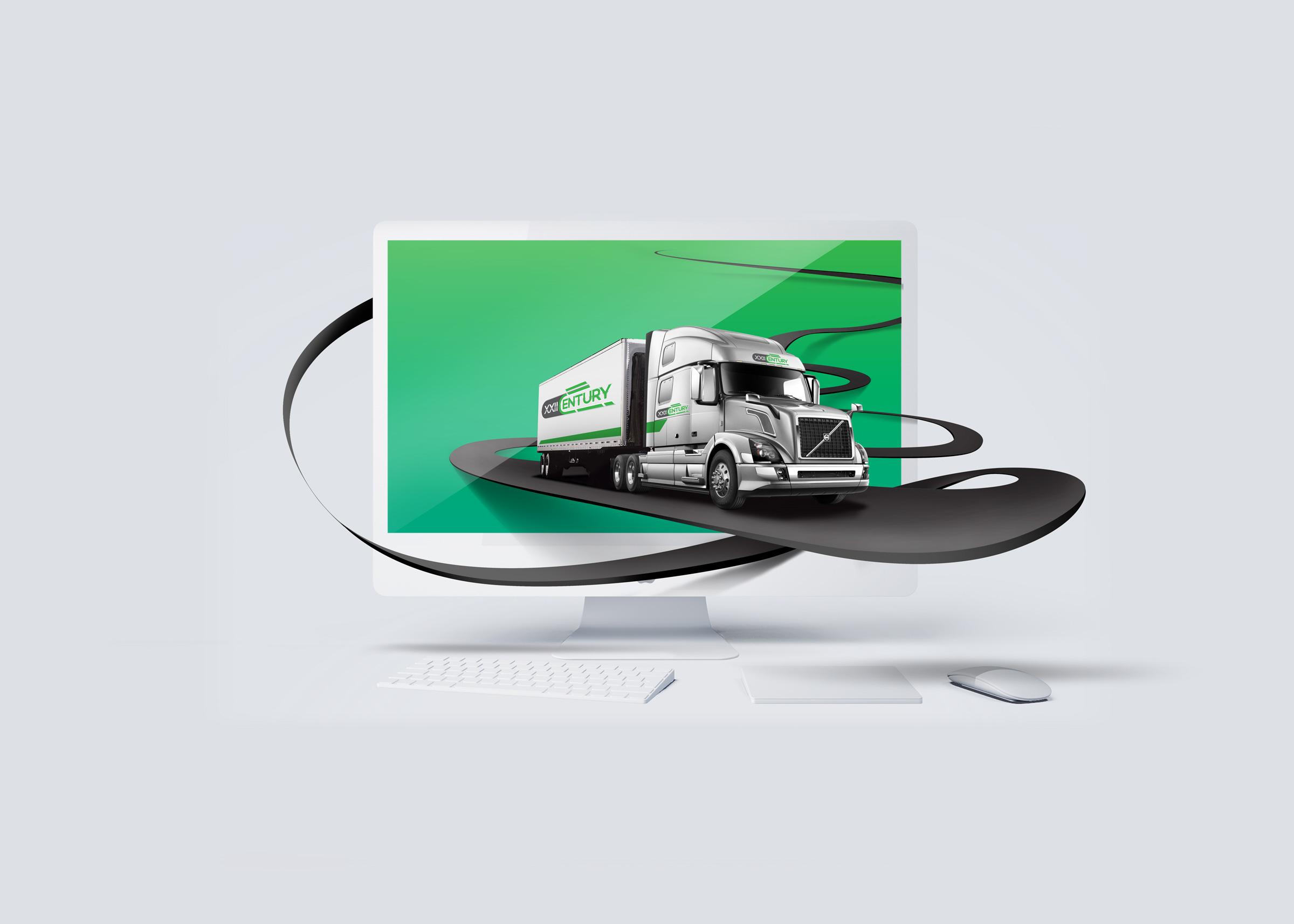 XXII Century Logistics - Digital Art by Yolocone