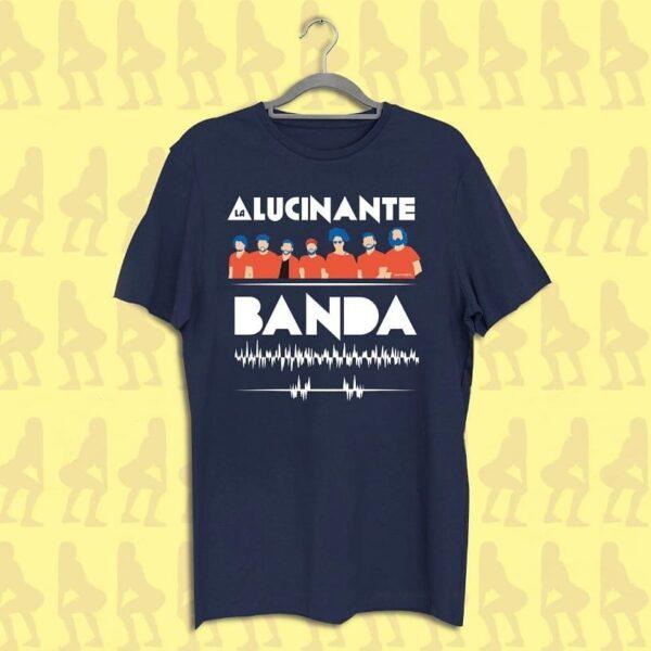 CAMISETA LA ALUCINANTE AZUL