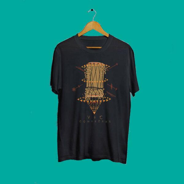 Camisetas vic negras