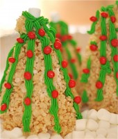 Rice Krispie Trees