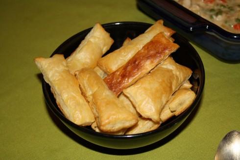 CHicken Pot Pie Fingers