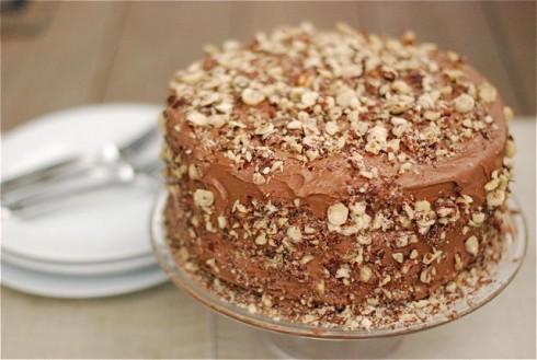 Kahlua Birthday Cake