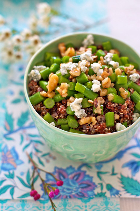 Green Beans with Walnuts Marla Meridith Photography