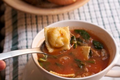 Naptime Chef Sausage Soup