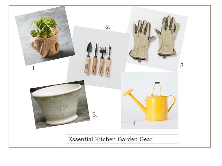 Essential Kitchen Garden Gear Naptime Chef