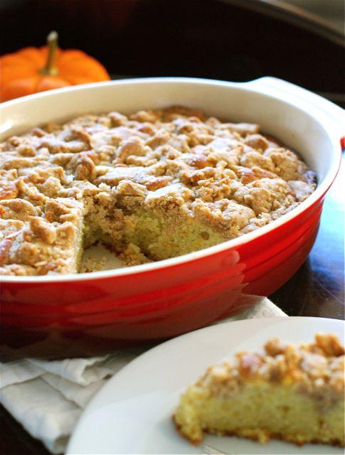 Orange Cinnamon Coffee Cake via The Naptime Chef