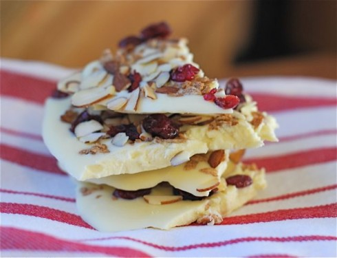 White Chocolate Bark via The Naptime Chef