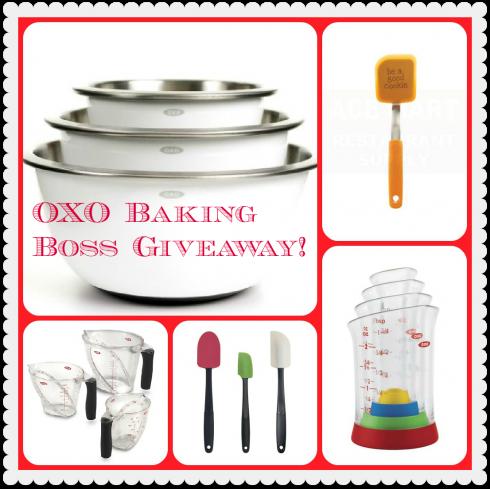 OXO Baking Boss Giveaway via The Naptime Chef