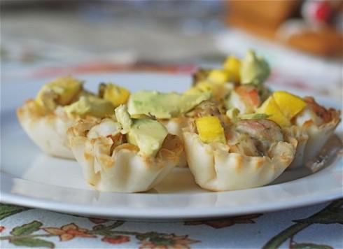 Shrimp Cups via The Naptime Chef