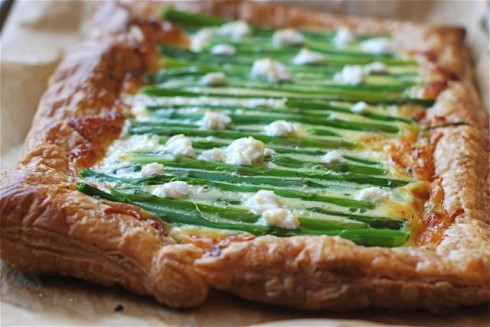 Asparagus Cheese Tart | The Naptime Chef