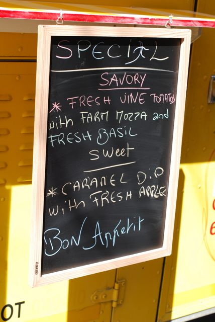 Crepe sign