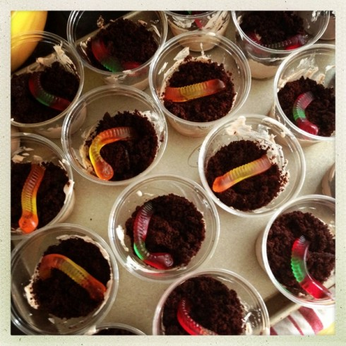 Gluten and Dairy Free Dirt Cups for Kids