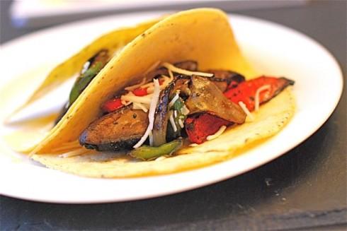 Spicy Portabello Mushroom Tacos