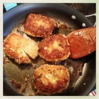 Crispy Lemon Sage Pork Chops