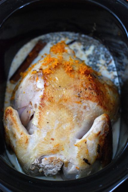 Slow Cooker Chicken in Milk | The Naptime Chef