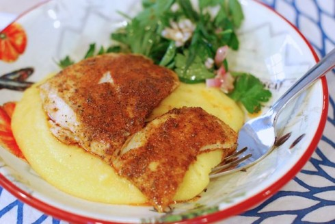 Blackened Drum with Blue Apron Meals