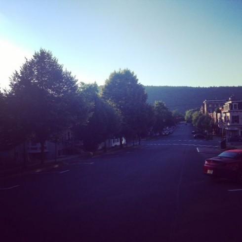 Main Street Sunrise