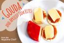 Gouda with Apricot Jam