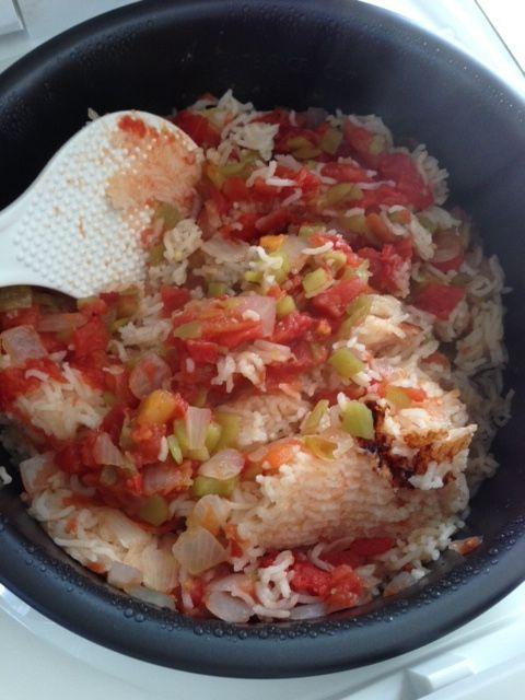 Mexican Rice Breakfast Burrito