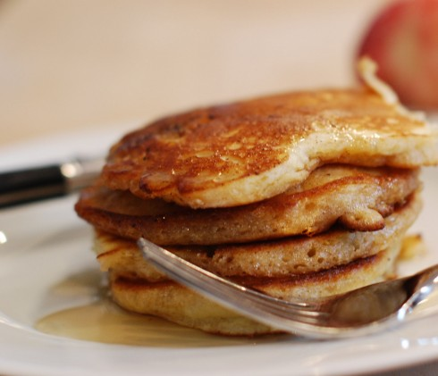 Pear Spice Pancakes