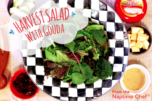 Harvest Salad with Overlay