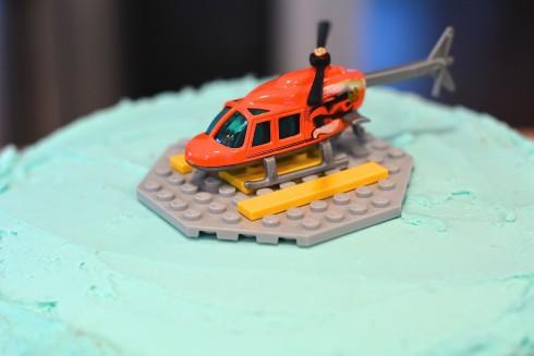 Helicopter Lemon Cake | The Naptime Chef