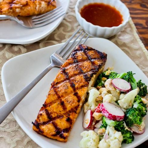 Maple Salmon from Kalyn's Kitchen