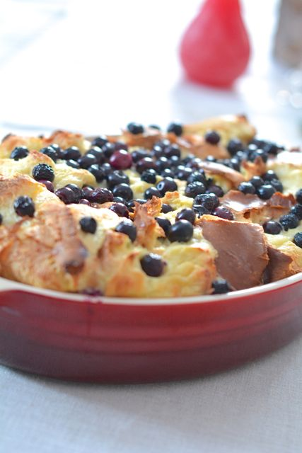 Blueberry Bread Pudding   The Naptime Chef