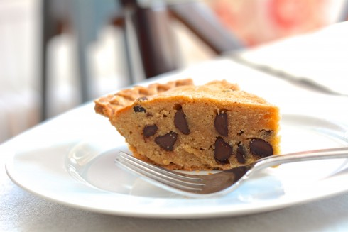 Peanut Butter Cookie Pie | The Naptime Chef