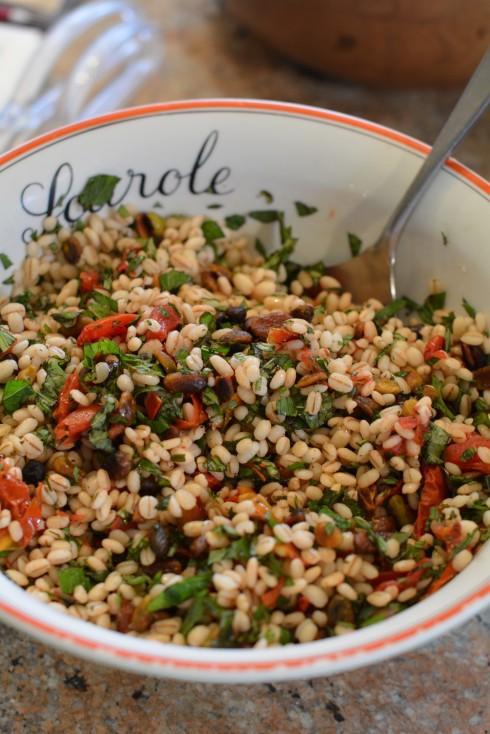 Slow-Roasted Tomato & Farro Salad | The Naptime Chef