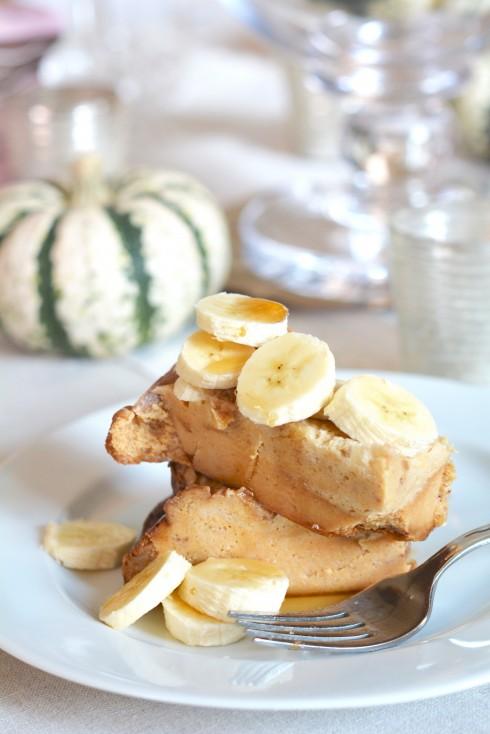 Slow Cooker Banana Cinnamon French Toast