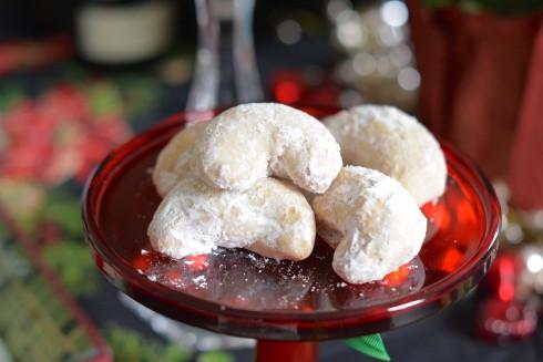 Sugary Almond Crescents | The Naptime Chef