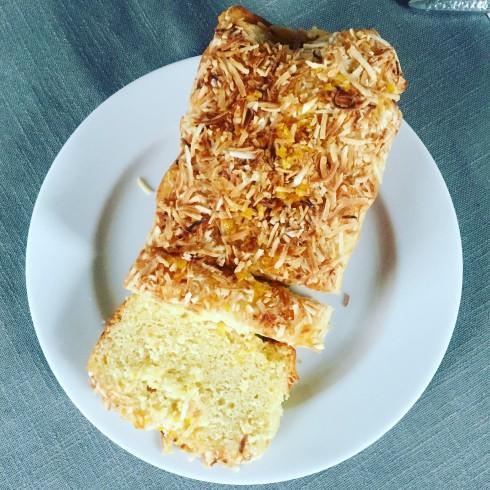 Meyer Lemon Coconut Loaf | The Naptime Chef