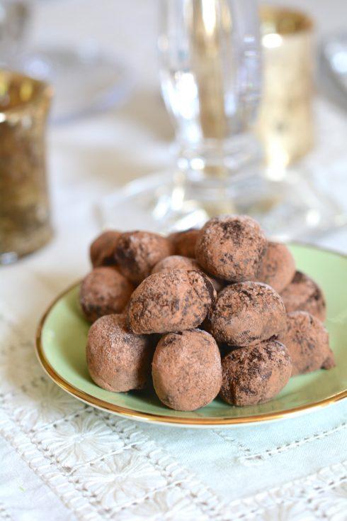 Red Wine Chocolate Truffles   The Naptime Chef