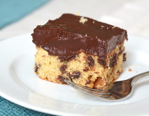 Brown Sugar Chocolate Chip Cake | The Naptime Chef
