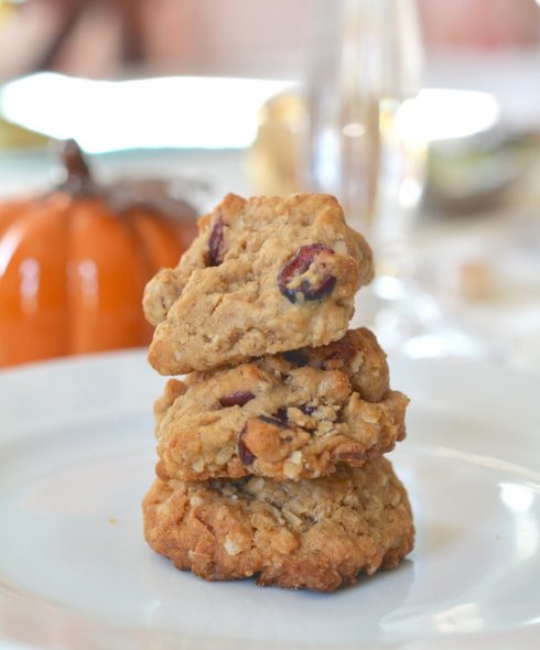 Chewy Oatmeal Almond Cookies | The Naptime Chef