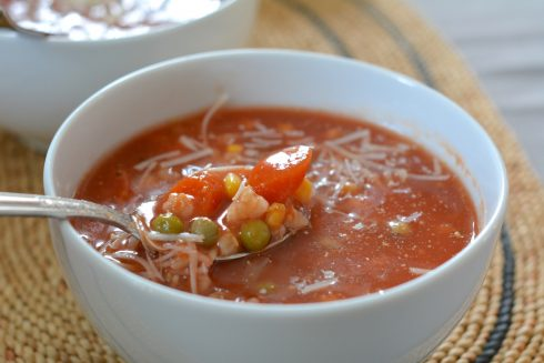 Slow-Cooker Vegetable Barley Soup | The Naptime Chef