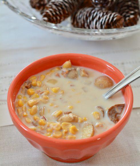 Warm Winter Corn Chowder