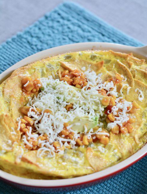 Naptime Chef | Egg Tortilla Bake