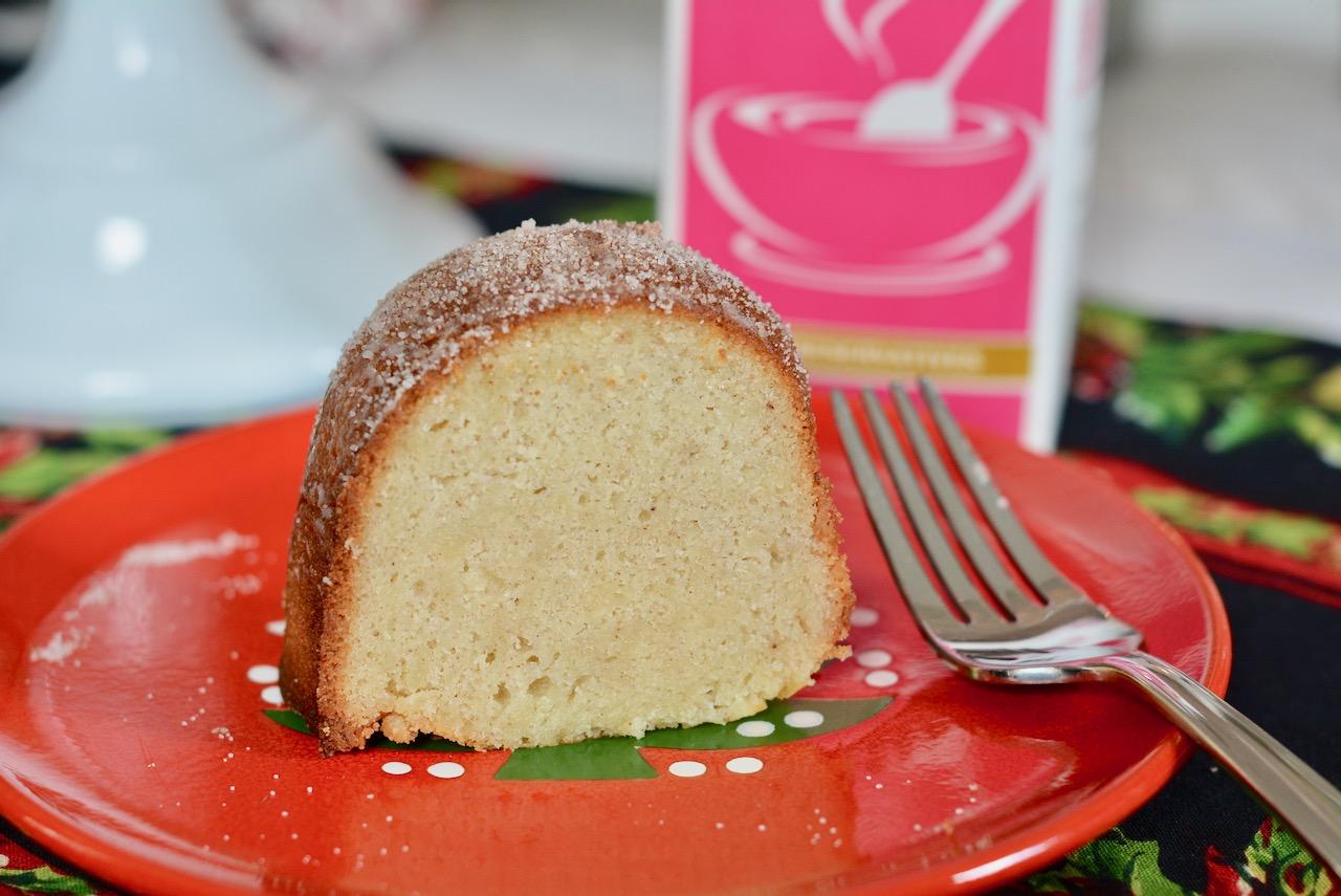 Snickerdoodle Cream Bundt Cake