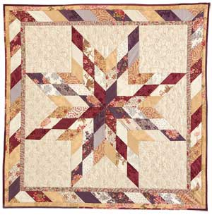 Lone-Star-Free-Wall-Quilt-Pattern