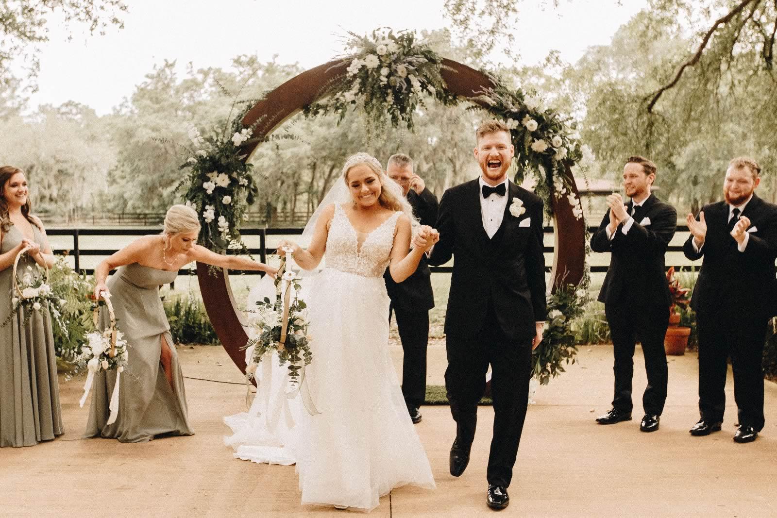 BLB Hacienda - wedding garden