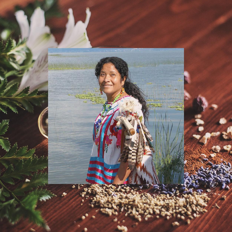 La mujer de las plantas: enseña medicina natural para sanar