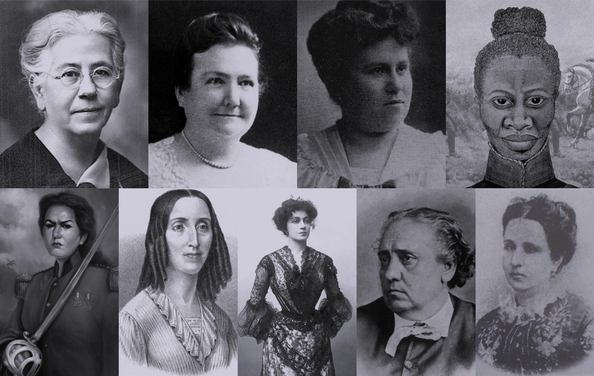 Nueve mujeres pioneras en la historia argentina
